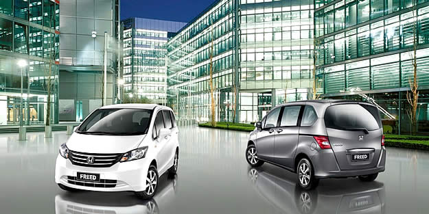 Honda Freed. 2