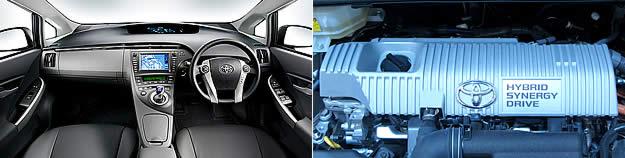 dashboard Prius