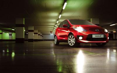 Mazda2 red