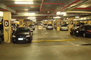 parkir di gedung bertingkat