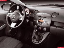 Mazda2 dashboard