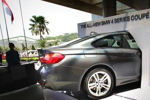 Sedan coupe BMW Seri 4