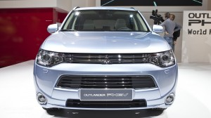 Mitsubisi Outlender Plug-in Hybrid Electric Vehicle