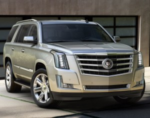 The 2015 Cadillac Escalade 1